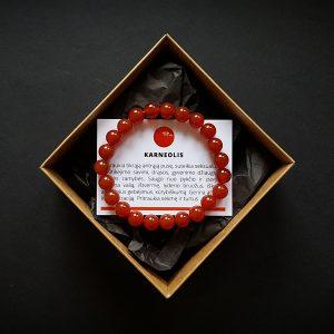 Karneolio apyrankė dvi-jewelry apyrankės